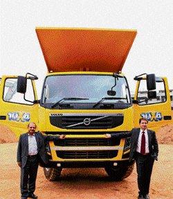 Volvo Trucks brings new Dump Truck for mining