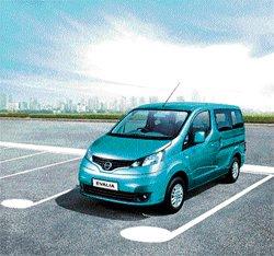 Nissan Motor India rolls out MUV 'Evalia'