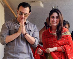 Saif-Kareena exchange vows after marriage registry