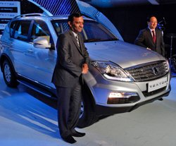 Ssangyong enters India with Rexton launch