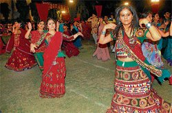 In the glory of raas