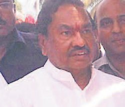 State is facing acute power shortage, says Eshwarappa