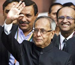 President set to offer prayers to Durga at family home