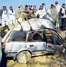 15 Afghans heading for wedding killed in bomb blast