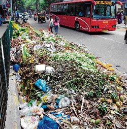 Rain compounds garbage misery