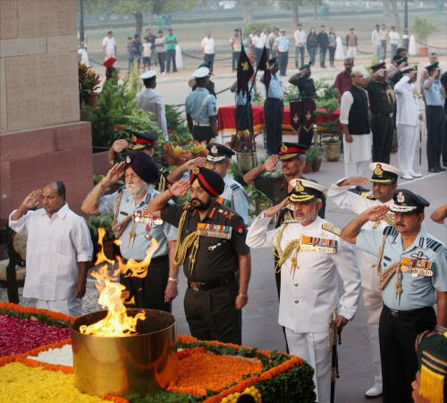 India pays homage to martyrs of 1962 war for first time