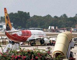 AI passengers stage 'squat protest' against flight delay