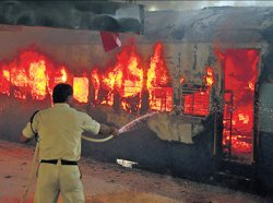 Immolation by couple led to fire in train: Railways