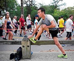 Doping and running for a decent living