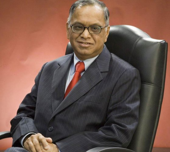 Narayana Murthy receives 2012 Hoover Medal