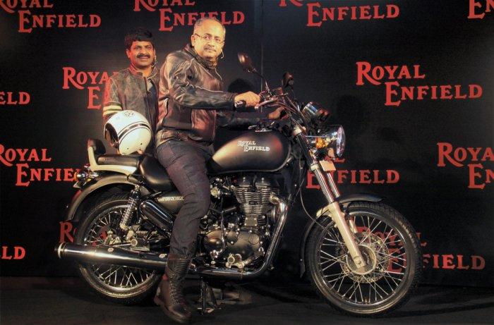 Royal Enfield targets 1.50 lakh units annually