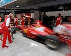 Ferrari's show of solidarity for Italian sailors held in India