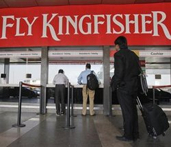 Kingfisher to use own funds in bid to resume service
