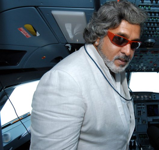 Mallya thanks 'Almighty' for losing billionaire tag