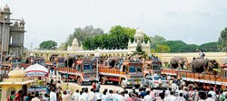 Arjuna and co bid adieu to city