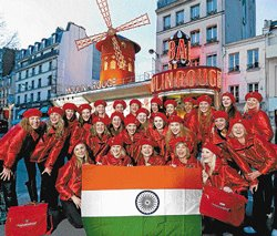 French extravaganza in India
