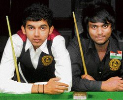 Pise claims Junior snooker title