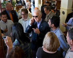 Are you Indian? Biden asks on campaign trail in Florida