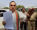 Swamy accuses Sonia, Rahul of property fraud