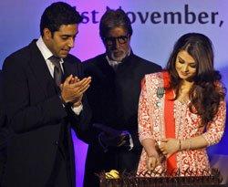 Proud of Aishwarya's French honour: Big B