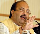 UP Police files closure report in case against Amar Singh