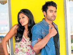 Jackky and Nidhi: Reel love story