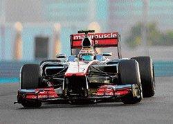 Hamilton denies pole for Red Bull