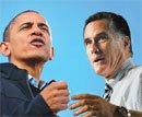 Obama, Romney in last stretch campaigning