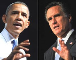 Obama, Romney focus on swing states in last minute campaigning