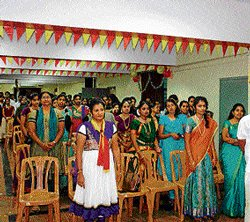 A melange of song and dance