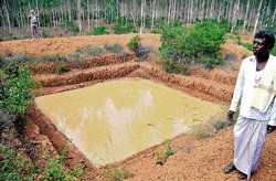Watershed project to farmers aid