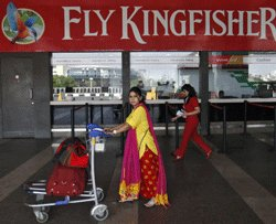Kingfisher 'red': Net loss Rs 754 cr