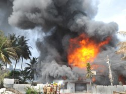 Major fire in Bangalore guts paint godown