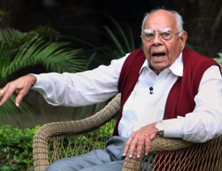 BJP disagrees with Jethmalani's comments on Ram