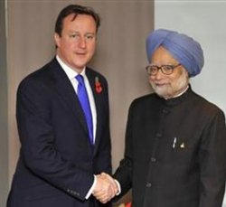 Britain ending financial aid to emerging power India