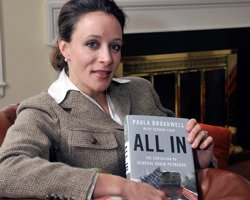 Woman linked to ex-CIA chief is a high achiever herself