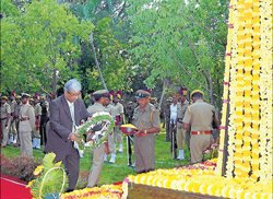 Forest Martyr's remembered on their day