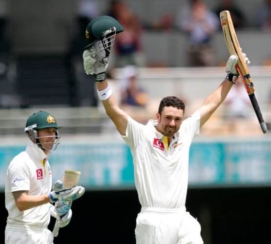 Clarke, Cowan put Aussies ahead of Proteas