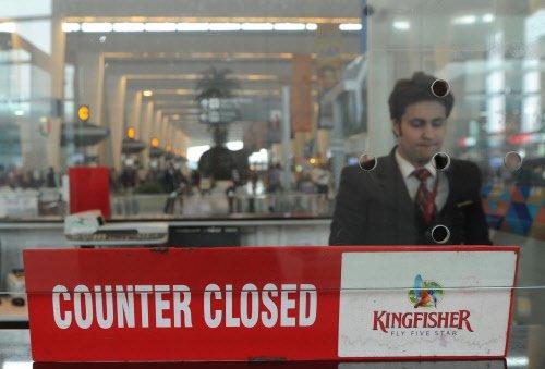 Kingfisher leaves employees in dark on Diwali