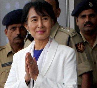 After 40 years, Suu Kyi returns to Delhi