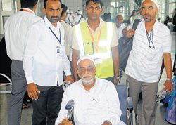 Haj pilgrims back at home