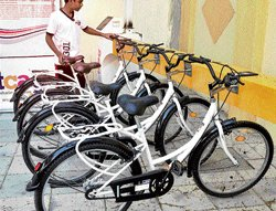 3 more Metro stations to get bicycle units