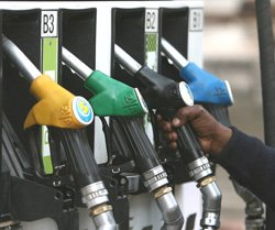 Petrol prices slashed by 95 paise