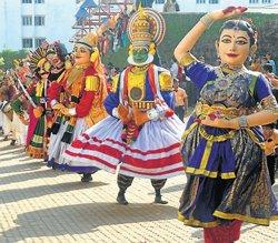 Tradition, culture comes  alive at Nudisiri