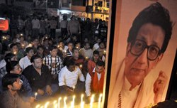Bal Thackeray's last journey begins