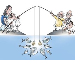 Regional parties rise as Cong, BJP shrink