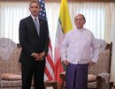 Obama makes history with Myanmar visit