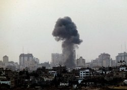 Israel waits on ground assault; death toll in Gaza is 111