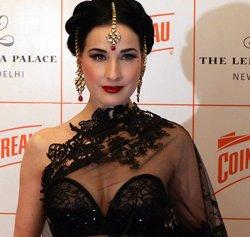 Saree is a very sensual dress: Dita Von Teese