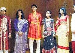 A blaze of ethnic celebration